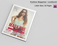 Fashion Lookbook / Magazine Template